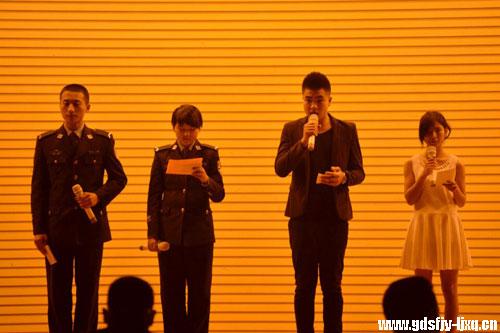 激扬青春志,共筑中国梦——廉江校区举行主题演讲朗诵比赛